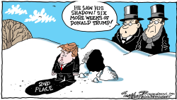 Groundhog Trump  by Bob Englehart