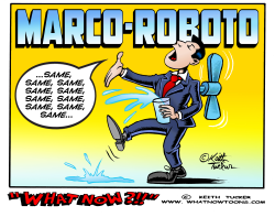 Marco Roboto water-bot by Keith Tucker
