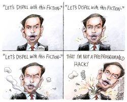 Rubio's Fiction  by Adam Zyglis