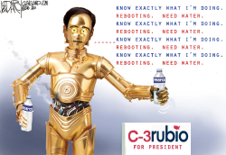 Robo Rubio by Jeff Darcy