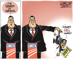Christie and Rubio  by John Cole