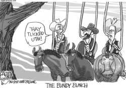 The Bundy Bunch  by Pat Bagley