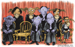 Supreme Court Vacancy   by Daryl Cagle