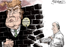 Pope Francis and Trump by Joe Heller