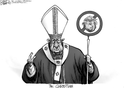 Papal Politics by Nate Beeler