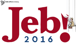Jeb Out by Bruce Plante