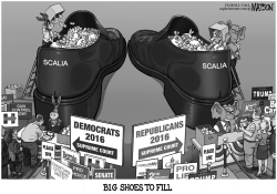 Filling Justice Scalia's Big Shoes by RJ Matson