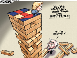 Hillry Berned  by Steve Sack