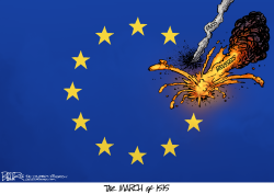 Brussels Attack  by Nate Beeler