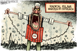 RADICAL ISLAM OUTREACH  by Rick McKee