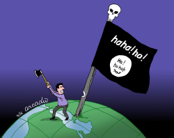 War against Isis by Arcadio Esquivel