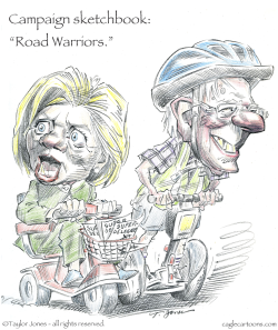 Campaign Sketchbook - Road Warriors -  by Taylor Jones