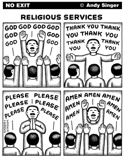 Religious Services by Andy Singer
