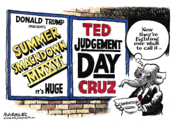 Republican Convention color by Jimmy Margulies