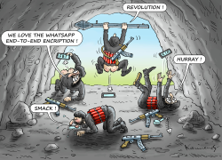 WhatsApp End-to End Encryption by Marian Kamensky