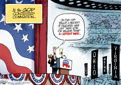 Contested Convention  by Nate Beeler
