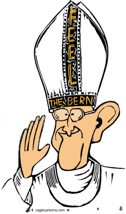 Berning Pope  by Randall Enos