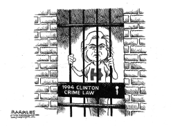 Hillary and the 1994 Clinton Crime Law by Jimmy Margulies