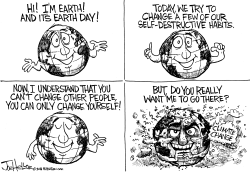 Earth Day by Joe Heller