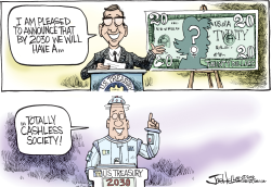 Twenty Dollar Bill by Joe Heller