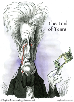 Bloody Andrew Jackson -  by Taylor Jones