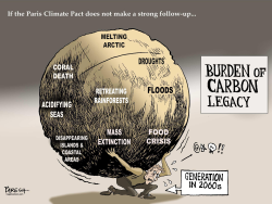Carbon Legacy burden COLOUR by Paresh Nath