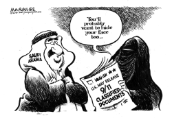 Saudi Arabia and 9/11 by Jimmy Margulies