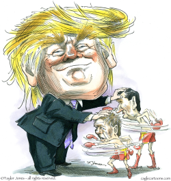 Trump versus the Tag Team -  by Taylor Jones