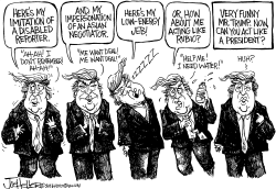 Trump's Impersonations by Joe Heller
