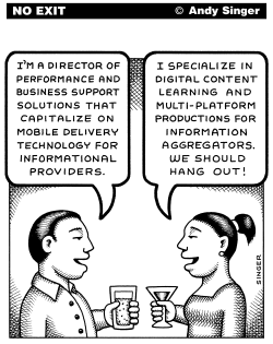 Contemporary Business Speak by Andy Singer
