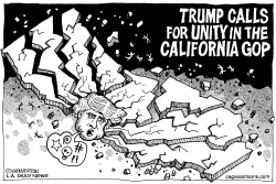 LOCAL-CA Trump Calls for Unity by Wolverton