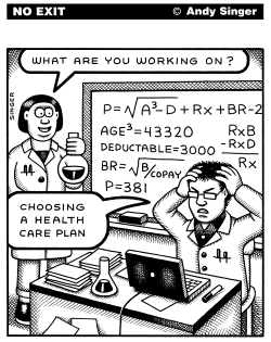 Choosing a Healthcare Plan by Andy Singer
