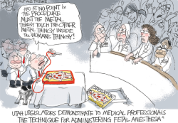 LOCAL Playing Doctor  by Pat Bagley