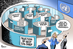 Selecting next UN Chief by Paresh Nath
