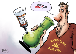 LOCAL OH - Medicinal Dope  by Nate Beeler