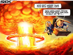Donald Da Bomb  by Steve Sack
