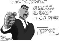 The Greatest by Pat Bagley