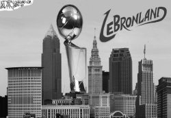 NBA Championship transforms Cleveland by Jeff Darcy
