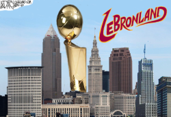 NBA Championship trnasforms Cleveland by Jeff Darcy