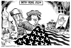 Betsy Ross 2004 by Mike Lane