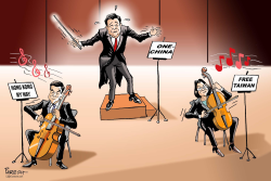 Chinese symphony by Paresh Nath