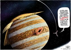 Planet Trump  by Nate Beeler