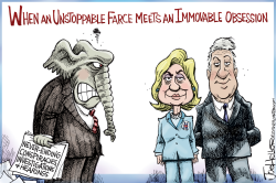 The Clintons by Joe Heller