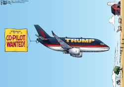 Air Trump  by Nate Beeler