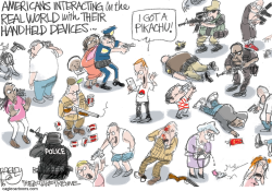 First Person Shooter  by Pat Bagley