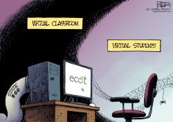 LOCAL OH - Virtual Education  by Nate Beeler