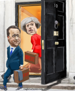 New Prime Minister in GB by Riber Hansson