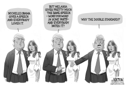 Donald Trump Questions Melania Plagiarism Charge by RJ Matson