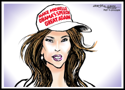 Melania Trump  Michelle Obama's Speech by J.D. Crowe