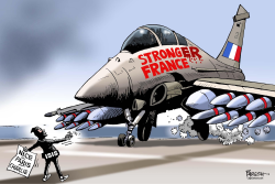 FRANCE STRONGER by Paresh Nath